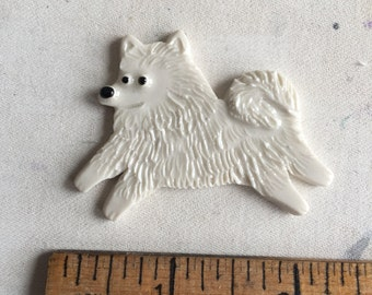 Mosaic Tile or pin Porcelain Ceramic American Eskimo