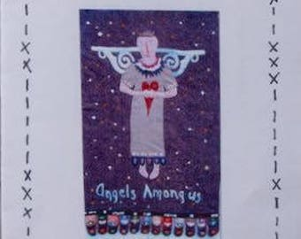 Appliqué Pattern - Angels Among Us by Pumpkin Hill - Wool Felt Appliqué Pattern