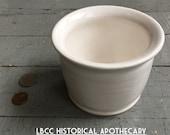 A- Reproduced Unguent Jar: 17th- 18th Century Bath England Cosmetics, Salves, Historical Jar