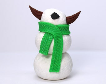 Timid SnowMonster (Green)