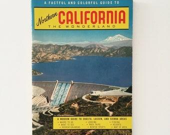 Northern California Guide & Maps 1955 - Shasta, Lessen, Sierra