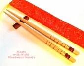 Chopsticks, Maple Wood wi...