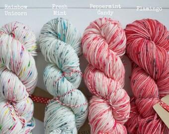 Kate Selene Hand Dyed Superwash Merino DK Yarn - Ready To Ship