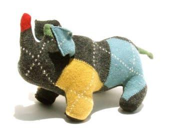 An Argyle Wool Rhinoceros