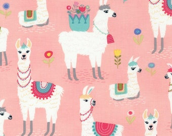 Alpaca Collection- Llama Alpaca- Timeless Treasures-By the yard- By the half yard- Cotton Fabric-Sewing Supplies- Quilting Supplies- Apparel
