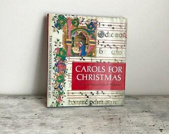 vintage Carols For Christmas book Metropolitan Museum of Art