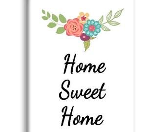 Home Sweet Home Magnet, Refrigerator Magnet, Kitchen Magnet