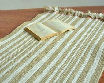 Natural fibre rug, Entryway rug, Jute rug, Handmade rug, Area rug, Rope rug Natural rug, Country house decor, Carpet runner, Handcrafted rug