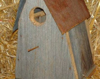 Amish Hand Made A-Frame BirdHouse