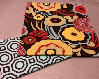 Mocca and Hollywood Fabric by Alexander Henry