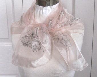 Bermuda Souvenir Scarf . bermuda island Scarf . souvenir scarf . the Bermuda islands . sheer souvenir scarf