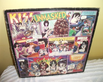 Kiss Unmasked Vinyl Record album GREAT CONDITION