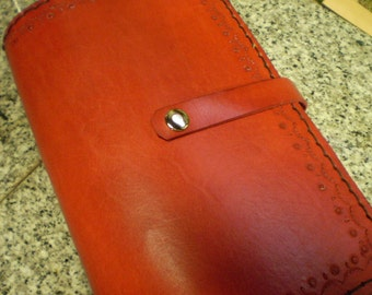 Scarlett Leather Journal Cover