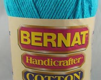Bernat Handicrafter Cotton Yarn 14 oz. Ball MOD BLUE