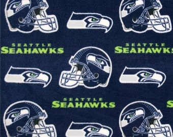Seattle Seahawks NoSew Fleece Blanket