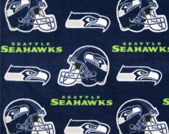 Seattle Seahawks NoSew Fleece Blanket