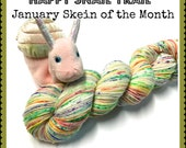 Happy Snail Trails!--January Color of the Month- 2Ply Merino/nylon Sock