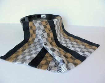 Handwoven Turned Twill Hand Towel, Fingertip Towel, Bread Cloth, Basket Liner