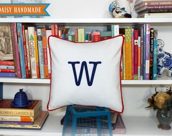 Letter Pillow Cover - Initial It - 14 x 14 square