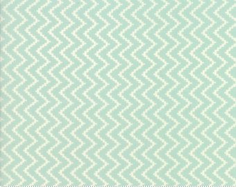 Coney Island (20284 13) Ocean Blue Zig Zag by Fig Tree & Co.