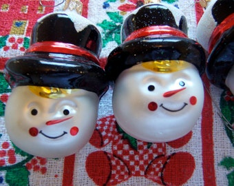 colombia snowman glass ornaments