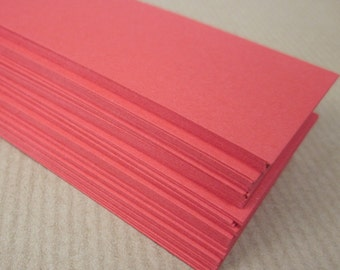 50 Small Red Cards, Hang tags