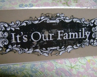 Rub on Transfers large Fancy Letters Our Family phrases scrapbook Journaling stickers Black white Scrapbooking embellishments