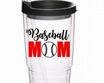 Baseball Mom 24oz Tumbler