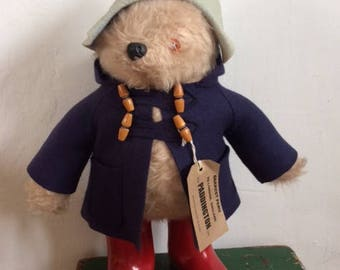 A Bear Called Paddington ~ Original Gabrielle Designs Paddington Bear Toy 1974