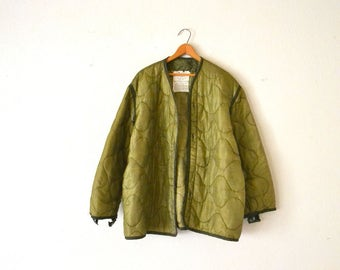 Military Cold Weather Coat Liner