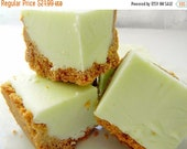 Valentine Pre-order SALE Julie's Fudge - KEY LIME Pie w/Graham Cracker Crust - Over One Pound