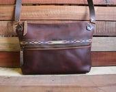 Leather Tote Bag, Leather Bag, Leather Bags women, leather handbag, free shipping, zipper leather bag, leather purse, leather bag handmade