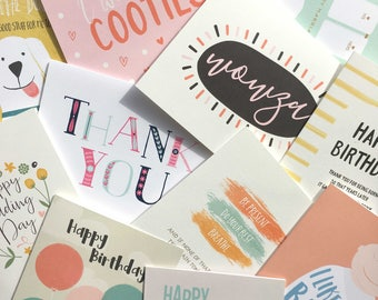 Set of 5 Cards | Your Choice | Greeting Cards