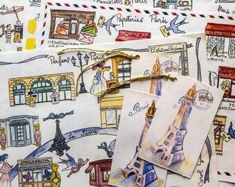 Gift bundle 6 previous Paris Maps