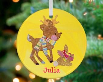 Little deer ornament