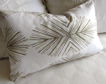 Tulum Sand  decorative pillow cover 12x20