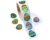 300 Prismatic Egg Stickers Easter Basket Filler Craft Supplies Jenuine Crafts