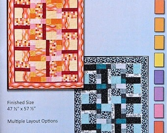 Quilt Pattern - Rectangles and Squares by Jennifer Houlden