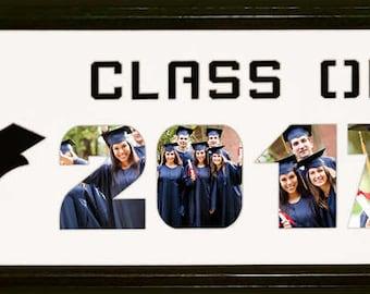 Custom Graduation Photo Collage (mat only)