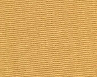 Pre-Shrunk Cotton CHINO TWILL Fabric Sold by the Yard 8.5 oz PERFECT For Apparel Home Decor Crafts Dijon Yellow Orange