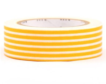 189758 mt Washi Masking Tape deco tape yellow stripes