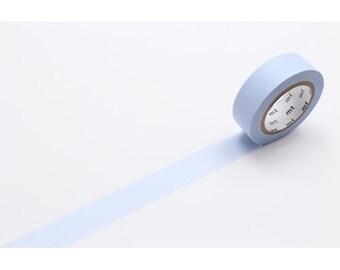 208856 mt Washi Masking Tape deco tape solid light powder blue