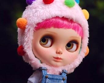 Blythe colorful fruit hat