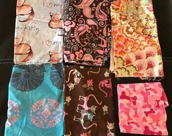 Mixed Fabric Scrap Bundle Bag #8