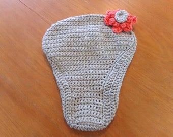 Crochet Cotton Bike Seat Cover