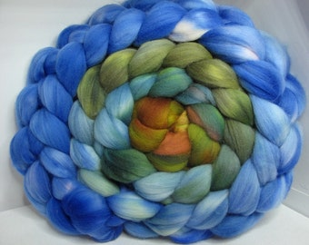 Merino 15.5 Roving Combed Top 5oz - Misty Leaves 1