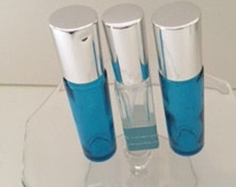 The Three Musketeers Perfume sets, three 1/4oz perfume sprays or perfume oils.  Because sometimes size does matter!!!!