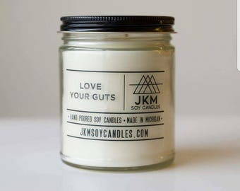 Love Your Guts soy candle