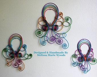 Tropical Octopus Set- Handmade Wall Hanging