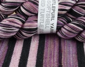 Over-dyed Trenchcoat (Limited Edition) - Hand-Dyed Self-Striping MCN Sock Yarn